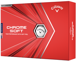 Callaway Chrome Soft Golf Balls LOGO ONLY