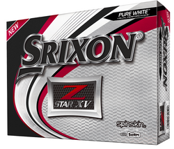 Srixon Z-Star Golf XV Balls LOGO ONLY