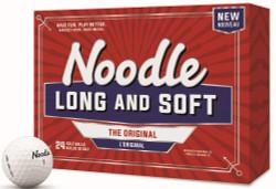 Noodle Long & Soft Golf Balls [24-Ball] LOGO ONLY