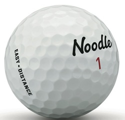Noodle Easy Distance Golf Balls 15-Pack LOGO ONLY