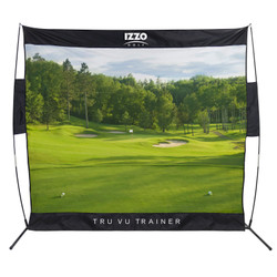 Izzo Golf- Classic Course Tru Vu Trainer Net