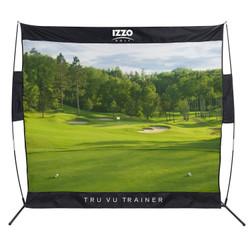 Izzo Golf- Classic Course Tru Vu Trainer Net