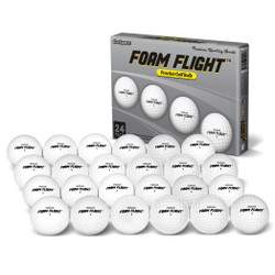 GoSports Golf- Foam Flight Practice Balls (24 Pack)