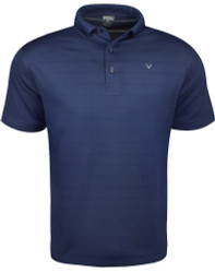 Callaway Golf- Horizontal Tonal Texture Stripe Polo