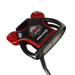 Pre-Owned TaylorMade Golf Spider Itsy Bitsy Limited Edition Red/Black Putter