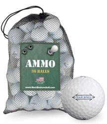 Titleist Tour Soft Recycled Fair Used Golf Balls *36-Ball Ammo Box*