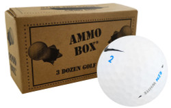 Nike Surlyn Mix Near Mint Used Golf Balls *36-Ball Ammo Box*