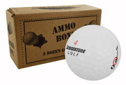 Bridgestone Surlyn Mix Near Mint Used Golf Balls *36-Ball Ammo Box*