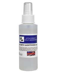 Attachment Golf Adhesives- 4 Ounce Sports Sanitizer