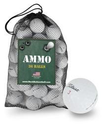 Titleist Golf NXT Tour S Recycled Fair Golf Balls *36-Ball Ammo Box*