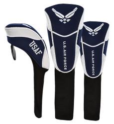 Hot-Z Golf US Military Head Cover Set Air Force
