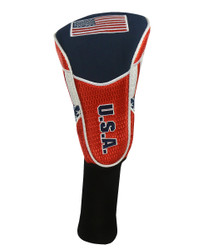 Hot-Z Golf National Flag Driver Headcover USA