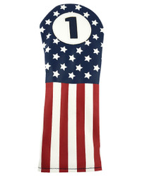Hot-Z Golf Vintage USA Flag Driver Headcover
