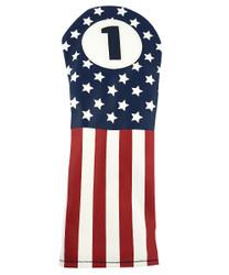 Hot-Z Golf Vintage USA Flag Driver Headcover