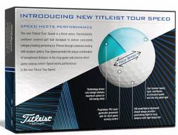 Titleist Tour Speed Golf Balls LOGO ONLY