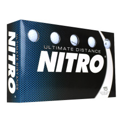 Nitro Ultimate Distance Golf Balls [15-Ball]