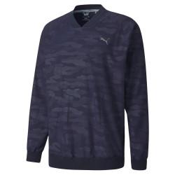 Puma Golf- Embossed Windshirt