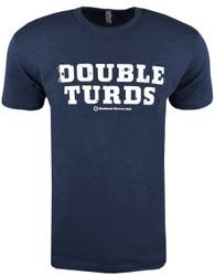 Weekend Warrior Golf Double Turds T-Shirt