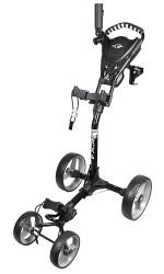 Ray Cook Golf RCX-4 Wheel Push Cart