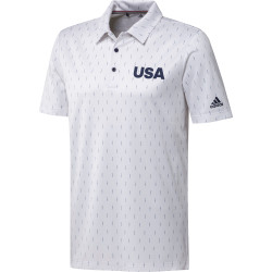 Adidas USA Golf Polo
