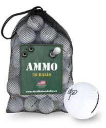 Vice Tour Mint Used Recycled Used Golf Balls *36-Ball Ammo Bag*