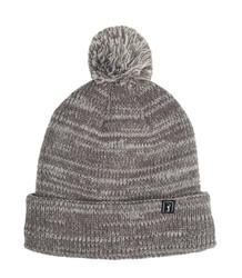 PGA Tour Golf- Fleece Heather Pom Hat