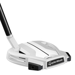 Pre-Owned TaylorMade Golf LH Spider X Chalk/White Small Slant W/SightLine Putter (Left Handed)