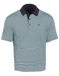 Callaway Golf 3-Color Stripe Short Sleeve Polo