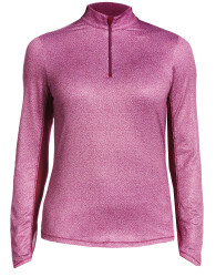 Callaway Golf- Ladies Swing Tech Mini Leaf Sun Protection Pullover