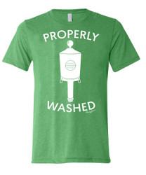 SwingJuice Golf Properly Washed Short Sleeve T-Shirt