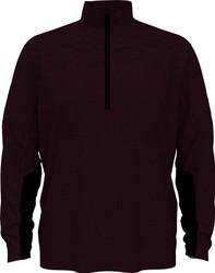 PGA Tour Golf- Lux Touch Quarter Zip Pullover