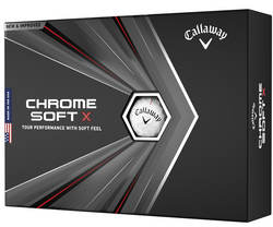Callaway Chrome Soft X Golf Balls LOGO ONLY