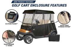 Greenline Golf- 2 Passenger Drivable Golf Cart Enclosure