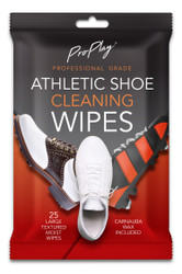 Go ProPlay Golf- Athletic Shoe Cleaning Wipe (25 Count)