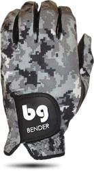 Bender Gloves- MLH Colored Golf Glove Spandex Digital Camo