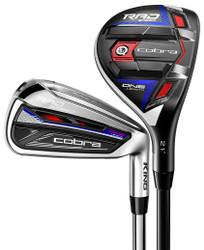 Cobra Golf- King RADSPEED ONE Length Combo Irons (7 Club Set) Graphite