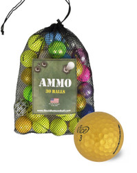 Novelty Assorted Mix Mint Recycled Mint Used Golf Balls [36-Ball]