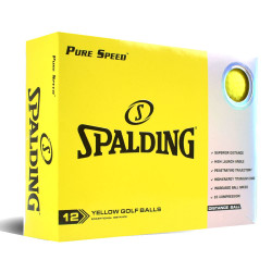 Spalding Pure Speed Golf Balls LOGO ONLY