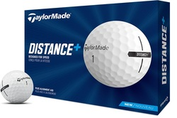 TaylorMade TM Distance + Golf Balls LOGO ONLY