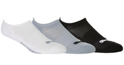 Puma Golf- Ladies Pounce No Show Socks (3 Pack)