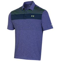 Under Armour Golf- Playoff 2.0 Press Stripe Polo Chest Logo