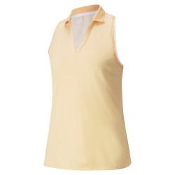 Puma Golf- Ladies Mattr Sprinter Sleeveless Polo