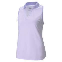 Puma Golf- Ladies Mattr Sprinter Sleeveless Polo