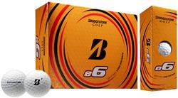 Bridgestone e6 Golf Balls LOGO ONLY