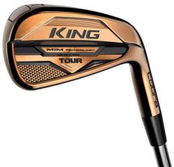 Cobra Golf- LH King Tour MIM Copper Irons (7 Iron Set) Left Handed