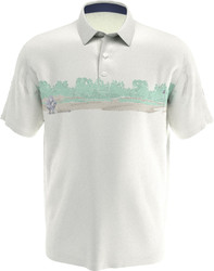 Callaway Golf- Swing Tech Landscape Block Polo