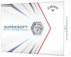 Callaway Supersoft Golf Balls LOGO ONLY