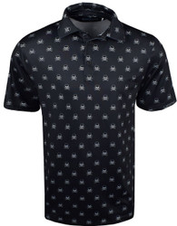 Etonic Golf- Skull & Crossbones Allover Print Polo