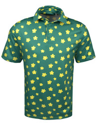 Etonic Golf- Azalea Allover Print Polo