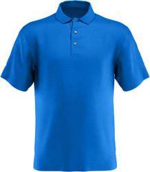 PGA Tour Golf- Big & Tall Airflux Solid Mesh Polo